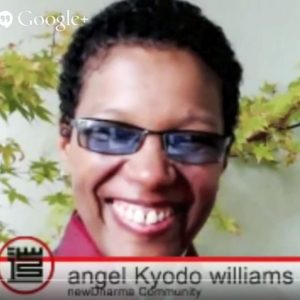 Lama Rod Owens and angel Kyodo williams Discuss Racism in Buddhist America
